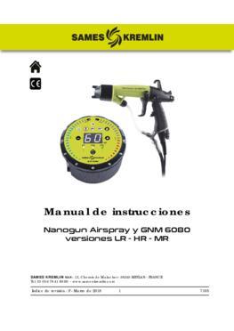 Nanogun-MV + GNM 6080 (LR - HR) | Manual de empleo