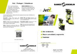 Díptico Equipo Manual Polvo E-JET2 SAMES KREMLIN