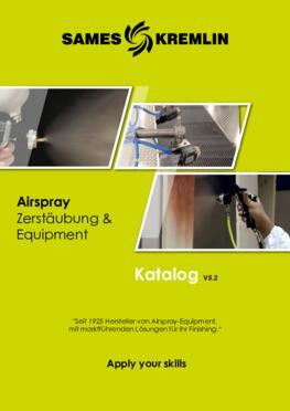 SAMES KREMLIN KATALOG AIRSPRAY Zerstäubung und Equipment v5-2