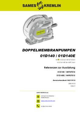01D140 01D140E  | Betriebsanleitung