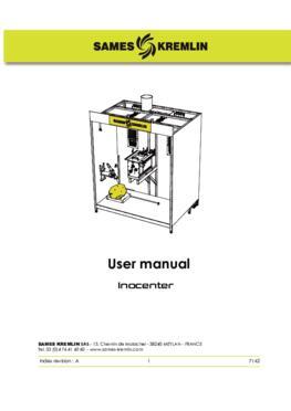 Inocenter Powder station |User Manual