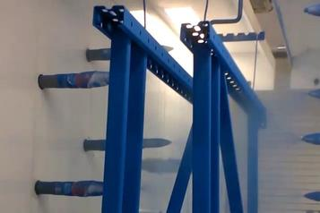 (1) Powder coating