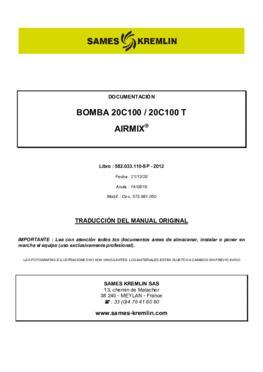 20C100 / 20C100 T | Manual de instrucciones