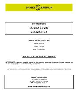 04F240 | Manual de instrucciones