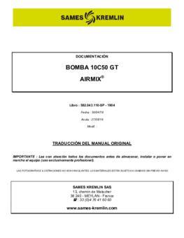 10C50 GT | Manual de instrucciones