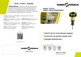 SAMES KREMLIN Broschüre 15C25 30C25 Airmix Förderpumpe