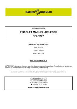 SFLOW | Manuel d'instruction