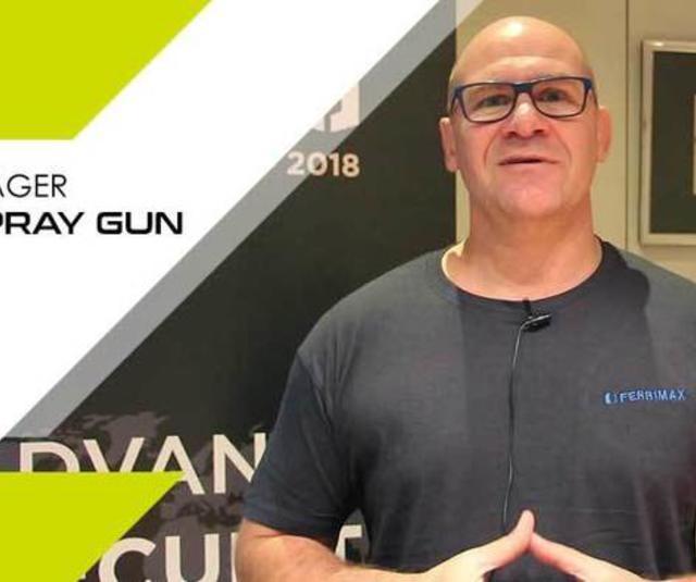 Testemunho do gerente de produção da Ferrimax pistola FPro