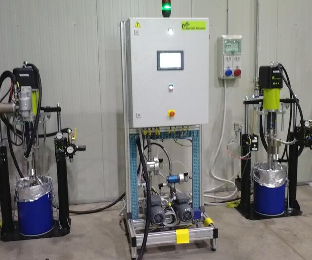 E60 dosing unit with pump and controller