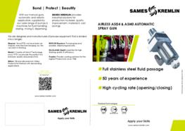 Leaflet ASI 24 Automatic Airless® Spray Gun (English version) SAMES KREMLIN