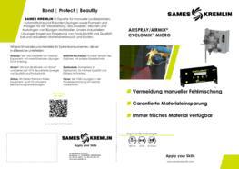 SAMES KREMLIN Broschüre Cyclomix Micro