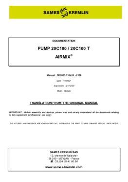 20C100 / 20C100 T   User manual
