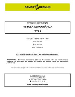 FPro S  | Manual Instruções