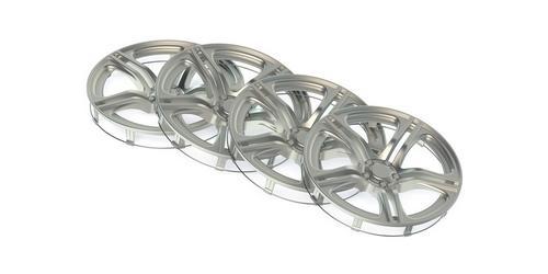 Automotive plastic rim coating