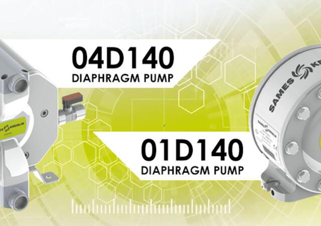 D140 pump range