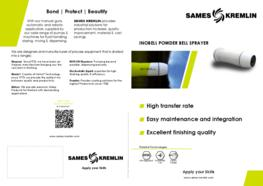 leaflet Inobell Powder Bell Sprayer (English version) SAMES KREMLIN