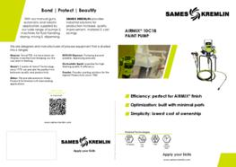 Leaflet Airmix® 10C18 Paint Pump (English version) SAMES KREMLIN