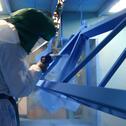 E-Jet2 manual powder spraying