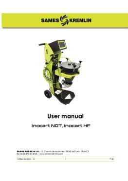 Inocart NDT/HF|User Manual