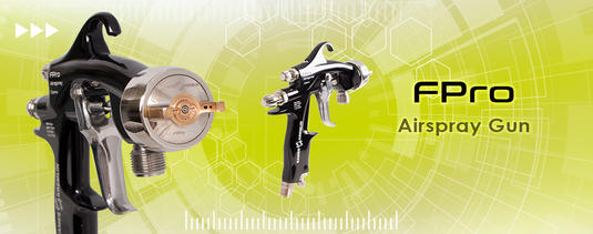 Discover our last FPro Airspray manual spraygun!