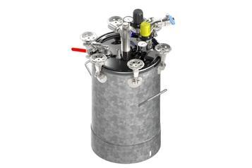 (1) Sistema de alimentación (depósitos de presión)