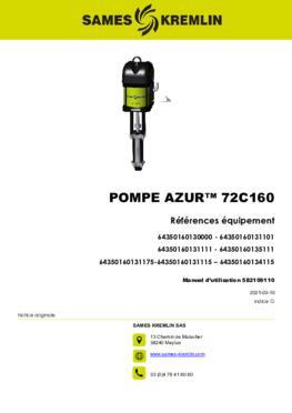 Azur™ 72C160 | Manuel d'utilisation