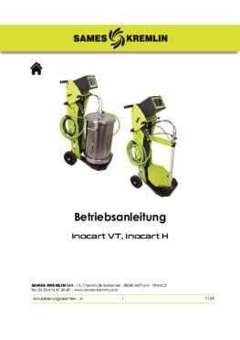 Inocart VT- Inocart H|Betriebsanleitung