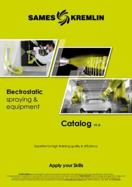 Catalog electrostatic liquid range SAMES KREMLIN