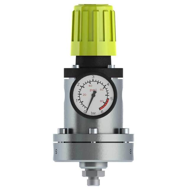 Airspray fluid regulator - manual -integrated pilot