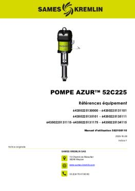 Azur™ 52C225| Manuel d'utilisation