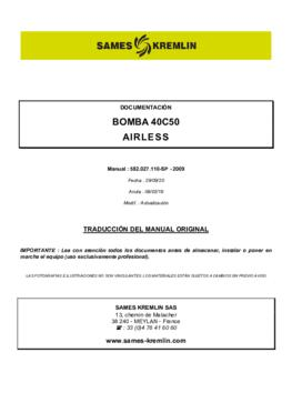 40C50 | Manual de instrucciones