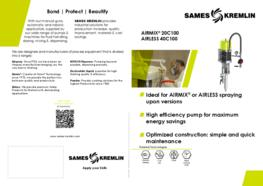 Leaflet 20C100 Airmix® 40C100 Airless Paint Pump (English version) SAMES KREMLIN
