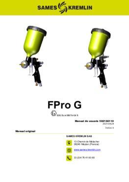 FPro G & GSP |Manual de usuario