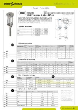 REXSON 2B0227 - Fiche caractéristiques détaillées