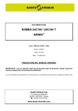 20C100 / 20C100 T   Manual de instrucciones