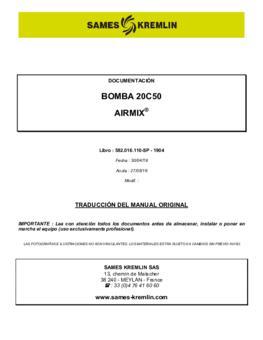 20C50 | Manual de instrucciones