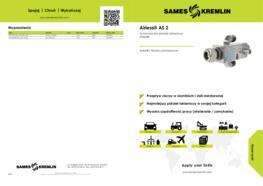 Automatyczny pistolet natryskowy Airless® AS 2