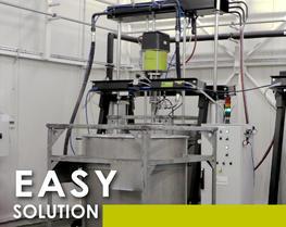 Soluzione agile pompaggio prodotti densi