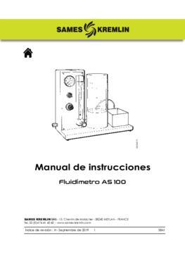 AS 100 | Manual de instrucciones