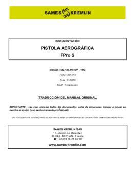 FPro S | Manual de instrucciones