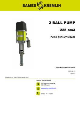 REX2B0225 REXSON Dispense |User Manual