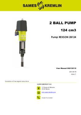 REX2B0124 REXSON Dispense | User Manual