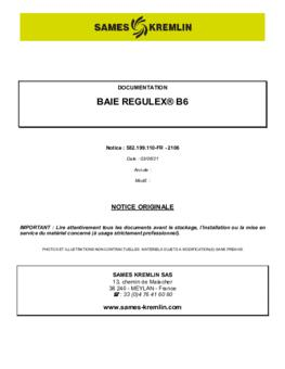 Baie B6 | Manuel d'utilisation