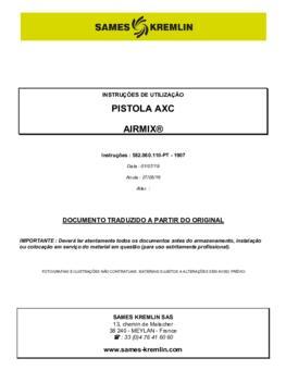 AXC | Manual Instruções