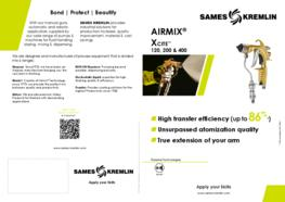 Leaflet Xcite™ Airmix® Manual Spray Gun (English version) SAMES KREMLIN