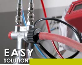 Soluzione pompaggio agile polvere