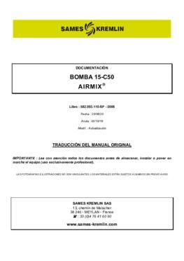 15C50 | Manual de instrucciones
