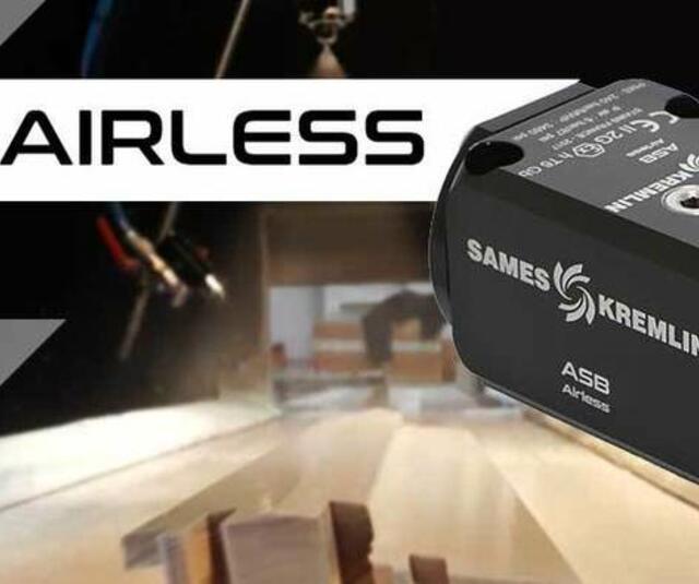 ASB Airless® automatic gun