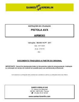 AVX | Manual Instruções