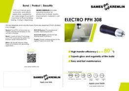 Leaflet PPH 308 Rotary Bell Atomizer (English version) SAMES KREMLIN